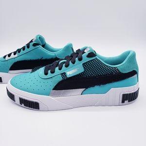 Puma Cali Bold Teal Black Sneakers